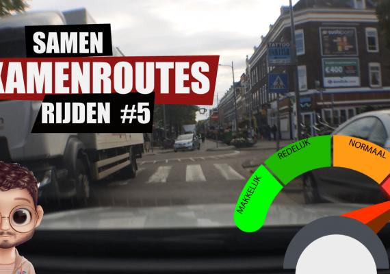 Examenroute-CBR-Rotterdam-#5-na-eenvrijstelling